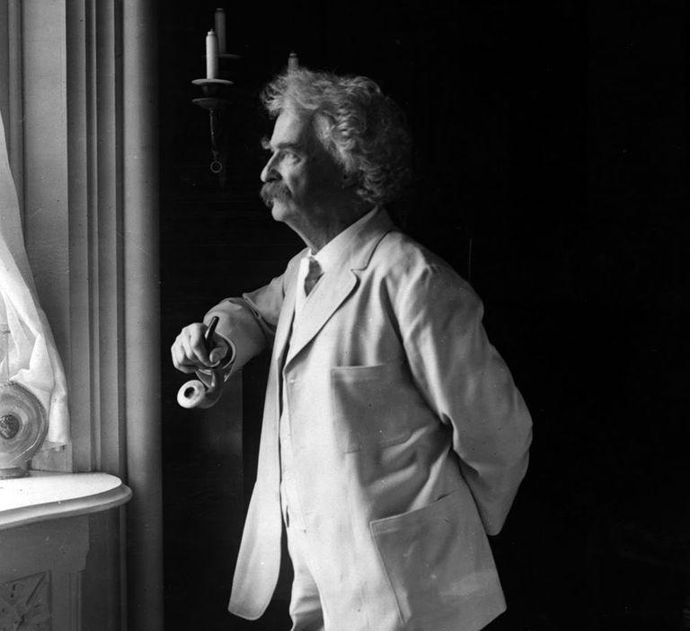 Mark Twain 1907