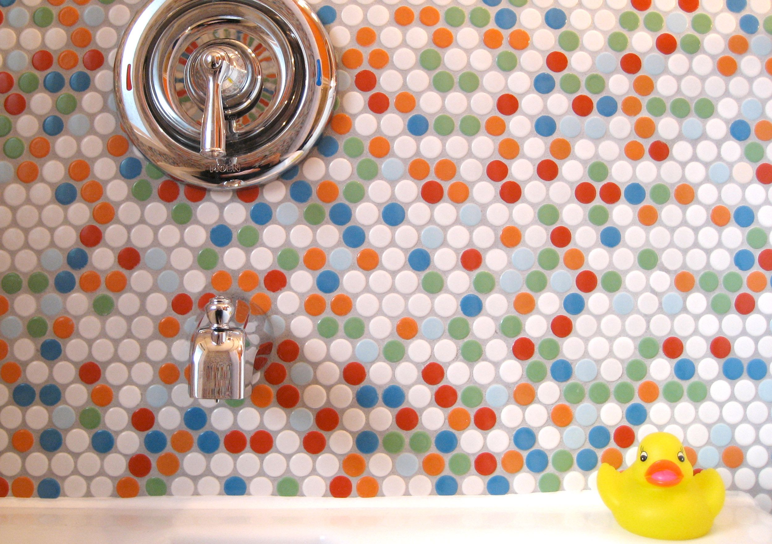 18 Ways Colorful Grout Spices Up Boring White Tile