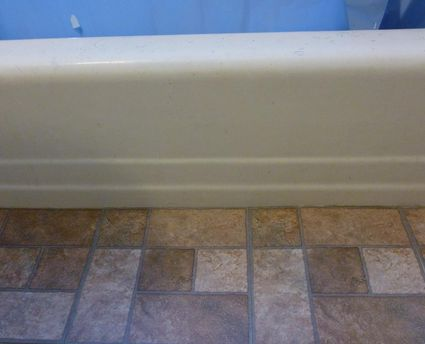 heres how to transform your bathroom with self adhesive floor tiles - Images Of Bathroom Floors