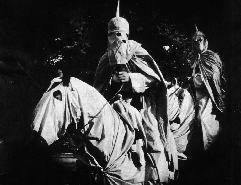 Scene from the film, Birth of a Nation