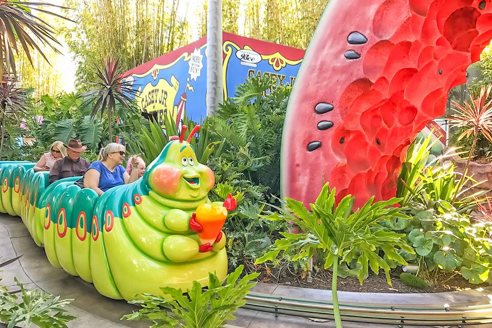 Heimlich's Chew Chew Train at Disney California Adventure