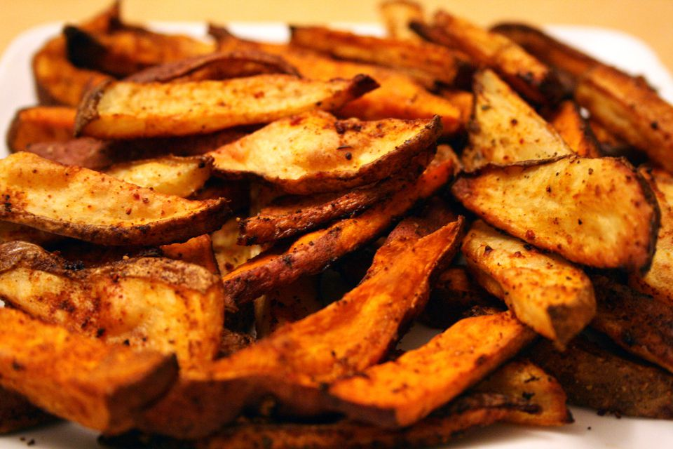 Sauteed sweet potatoes