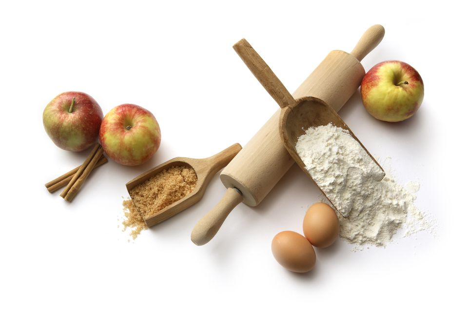 Apple Baking Ingredients