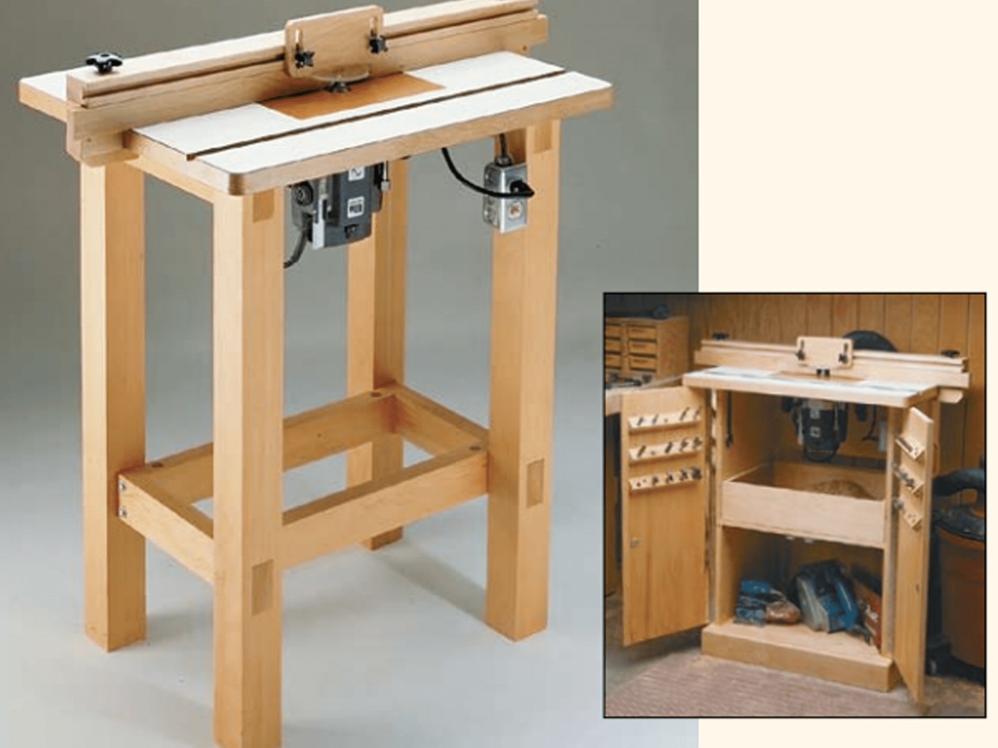 9 free diy router table plans you can use right now greentooth Image collections