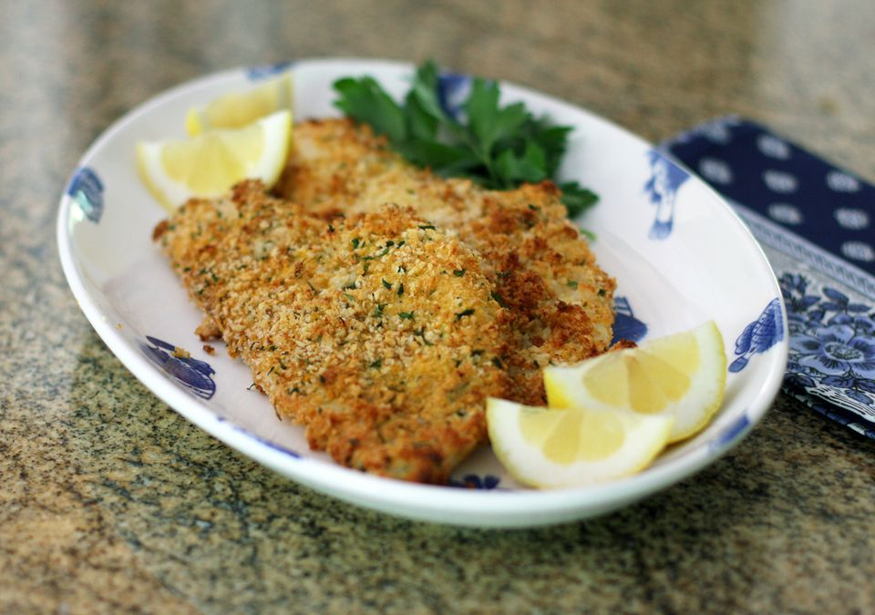 Panko Crusted Haddock Fillets