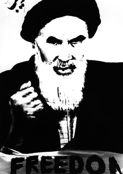 The exiled Shia Ayatollah Khomeini inspired the anti-Shah protesters in Iran.