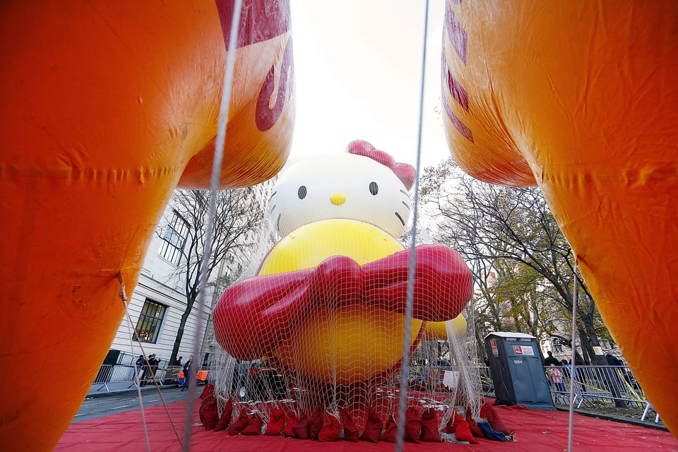 86th Annual Macy's Thanksgiving Day Parade's 'Inflation Eve'
