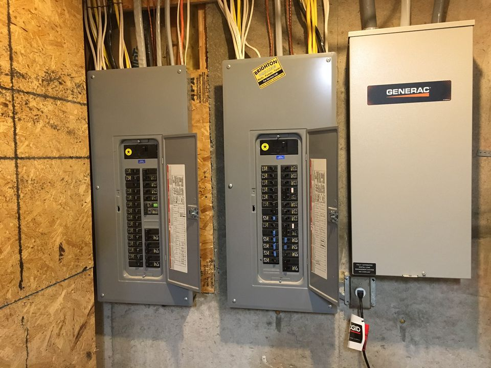 Electrical service panels