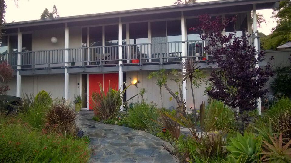 midcentury modern porch