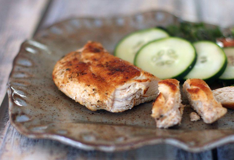 Easy Cajun Spiced Chicken Breasts