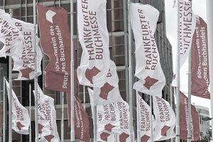 Frankfurt Book Fair flags