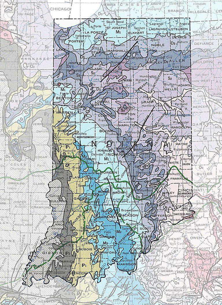geologic maps of the 50 united states