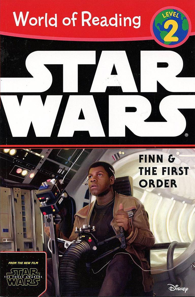 Star Wars Finn & the First Order - Children's Book Cover