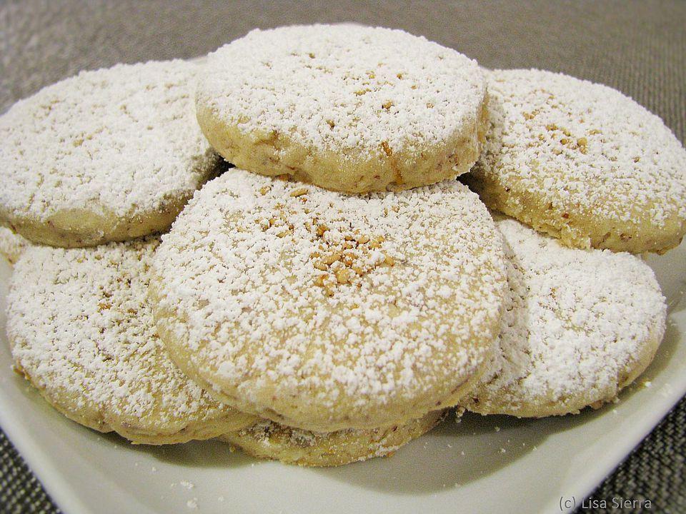 Lemon Polvorones Cookies - Polvorones de Limon