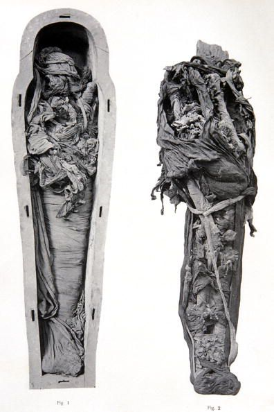 Mummy and Sarcophagus