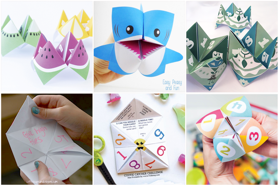 10 cootie catcher projects
