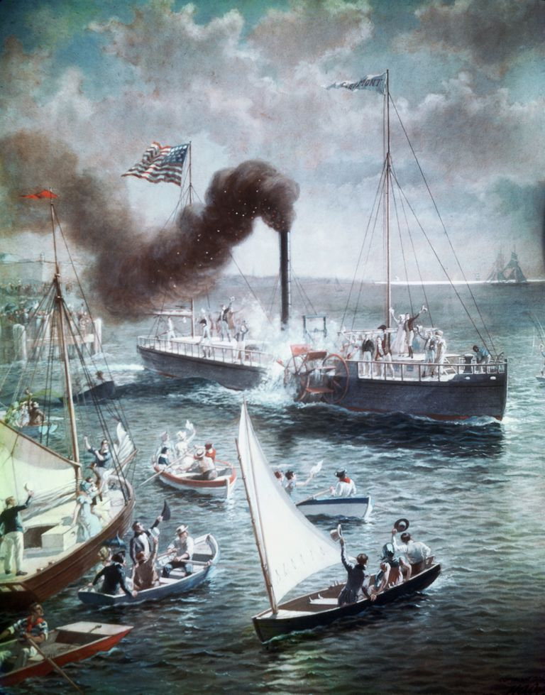the steamboat case of 1824 Gibbons v ogden: gibbons v ogden, (1824)  (1824), us supreme court case establishing the a monopoly on steamboat navigation in state waters if they.