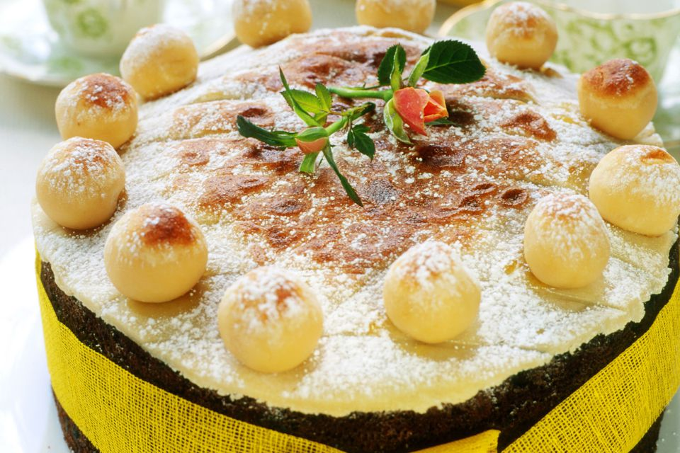 Classic Simnel Cake for Easter