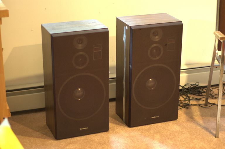 A pair of high-quality speakers