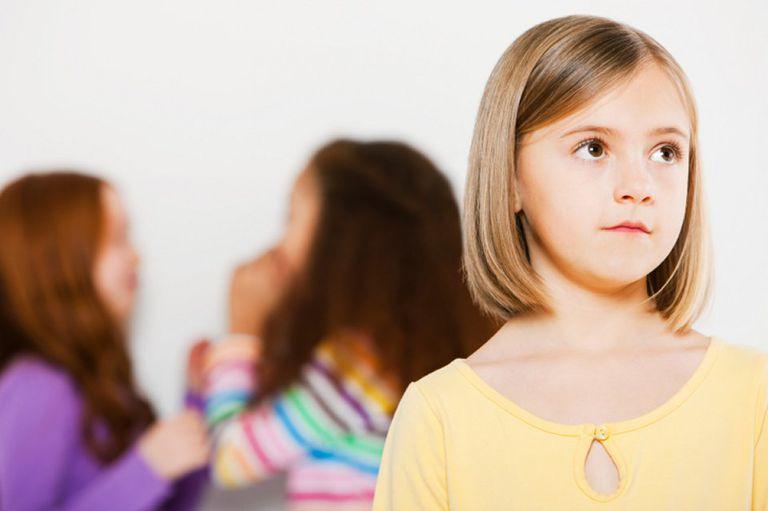 Kindergarten girl not socializing with other children