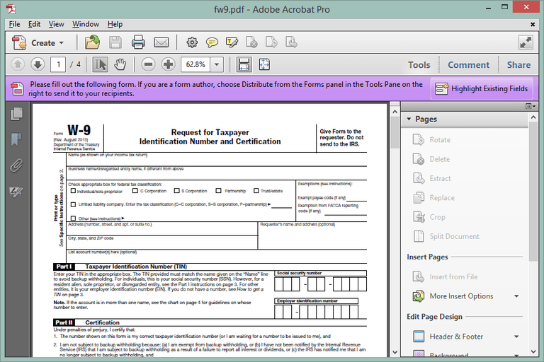 Screenshot of a PDF file opened in Adobe Acrobat X Pro
