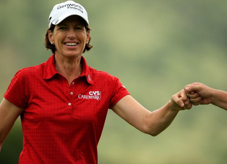 Golfer Juli Inkster pictured in 2008