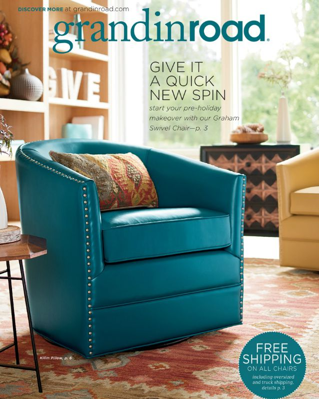 The cover of a Grandin Road catalog.