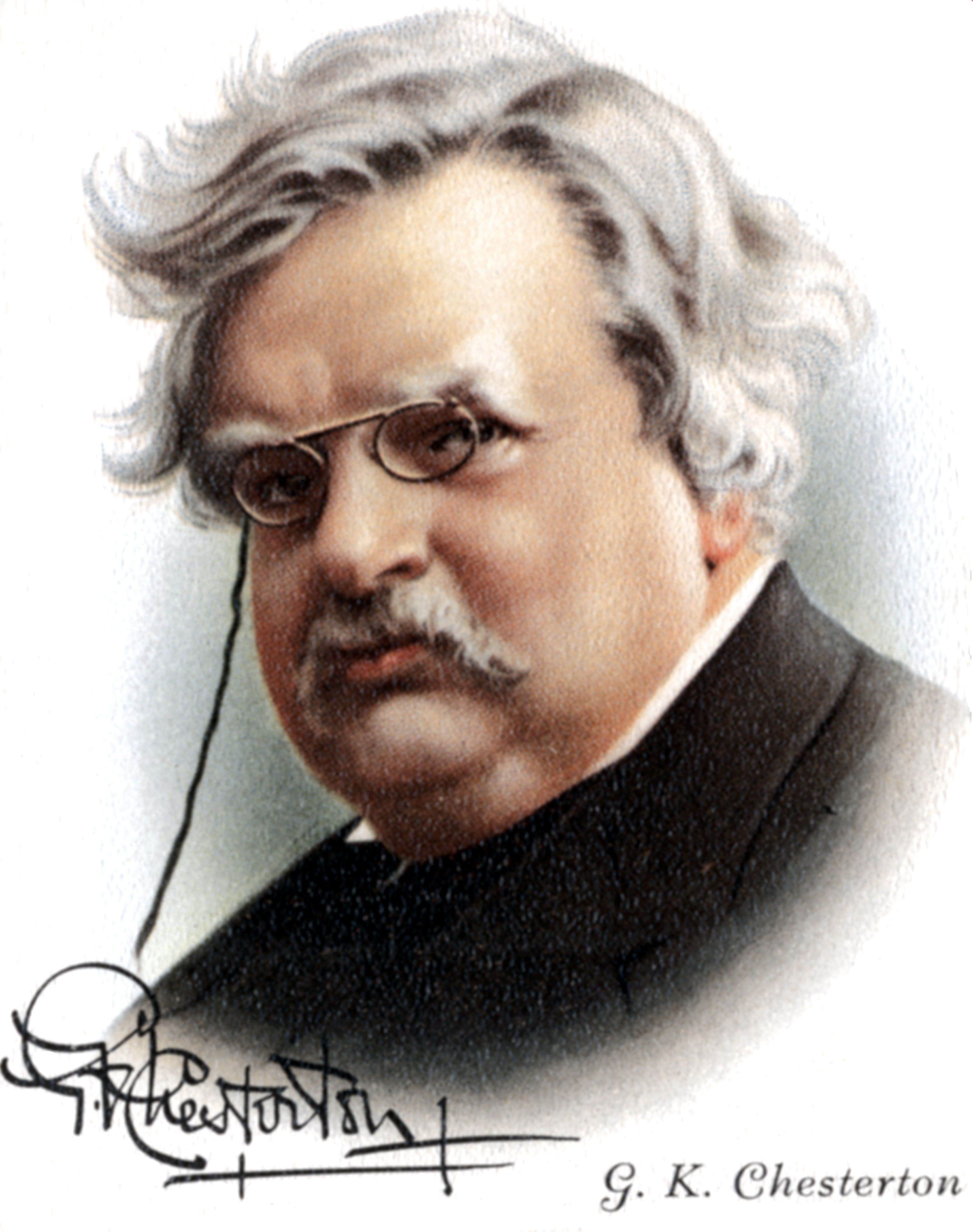 h l mencken and the libido for the ugly g k chesterton s classic essay on a piece of chalk