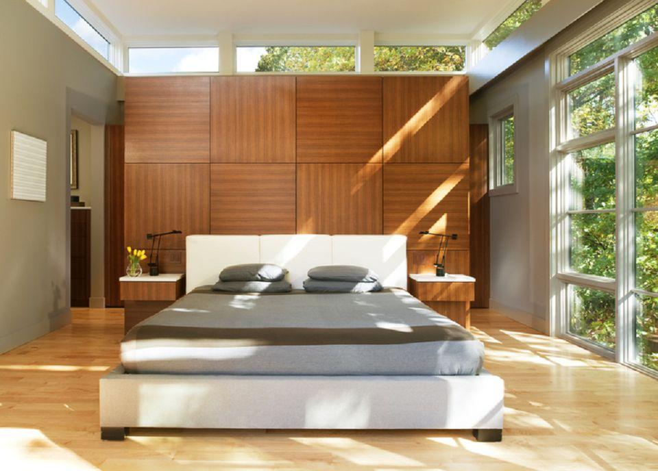 Zen Asian bedroom