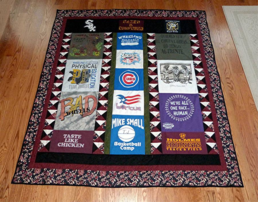 Pictures Of T Shirt Quilts Help You Design A Quilt