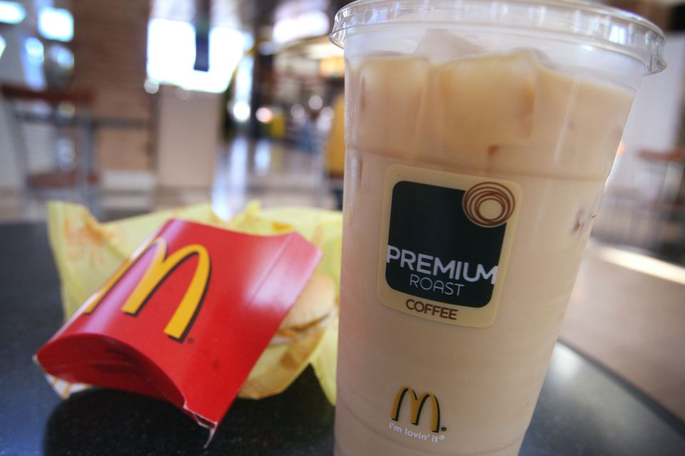 McDonald's coffee and french fry
