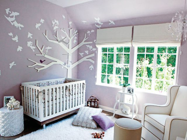 5 Professional Tips for Decorating a Purple Nursery