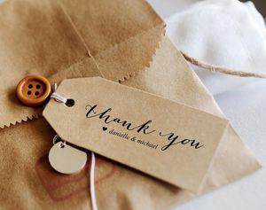 9 Sets of Free, Printable DIY Wedding Favor Tags