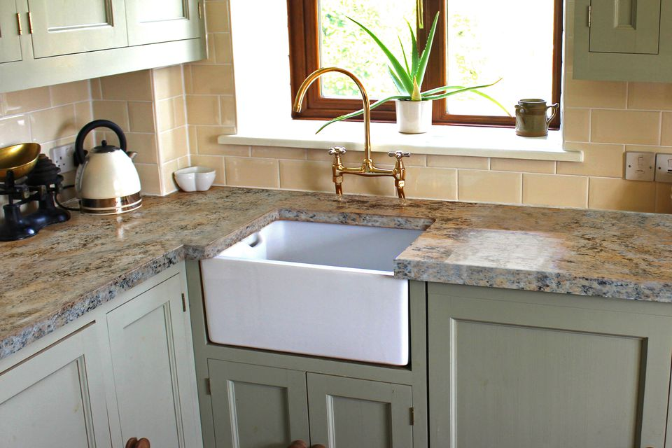 How To Install A Kitchen Sink In New Countertop