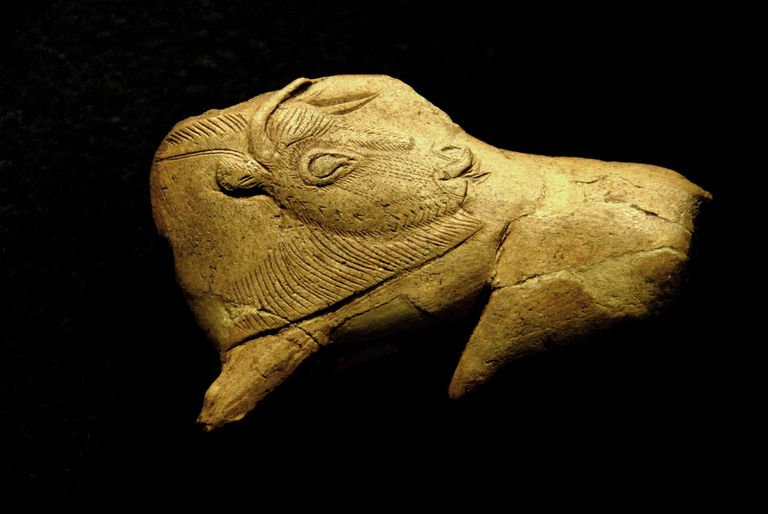 Neolithic ivory bison
