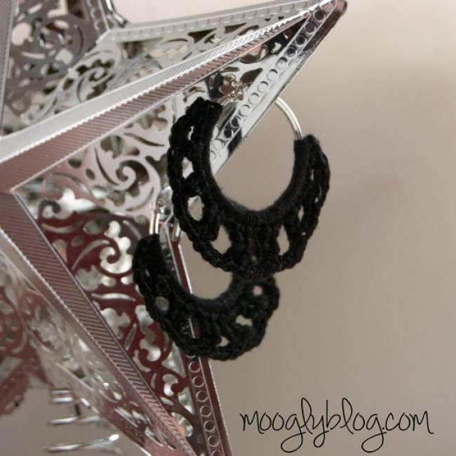 Timeless Crochet Earrings Free Pattern