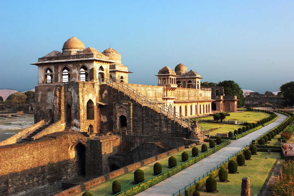 Jahaz Mahal/Ship Palace in Mandu, India