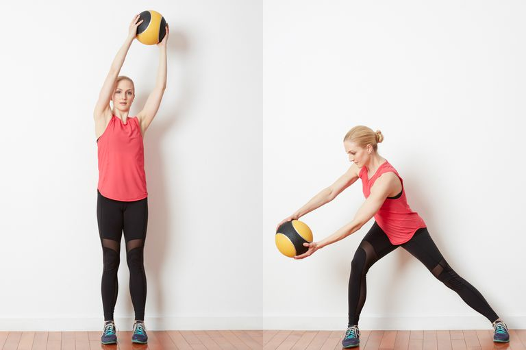 Medicine Ball Diagonal Woodchop