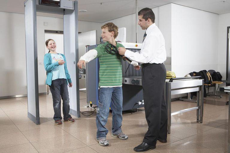 Cars  Metal Detector In Airport