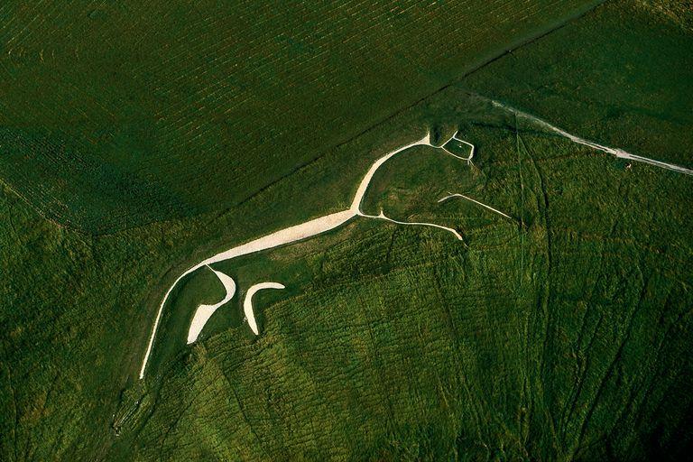 The Uffiington Horse Geoglyph, Oxfordshire, England