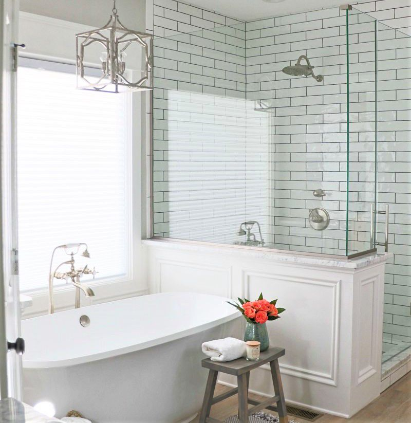Bathroom Tile Shower Designs. Classic Subway Tile Shower