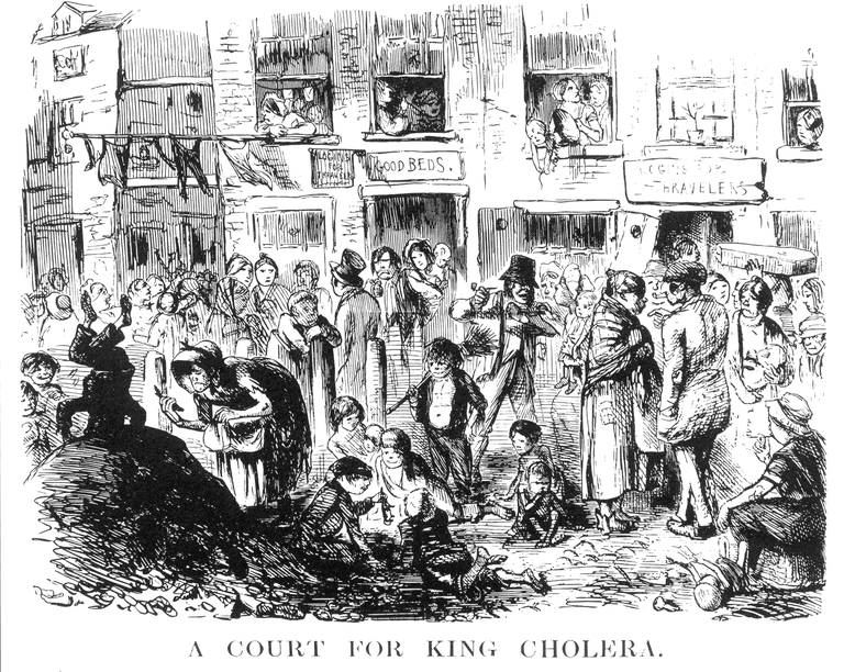 A Court for King Cholera