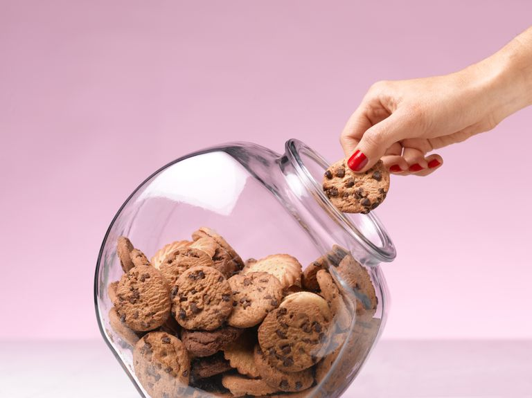 Alimentos con grasas trans cookies