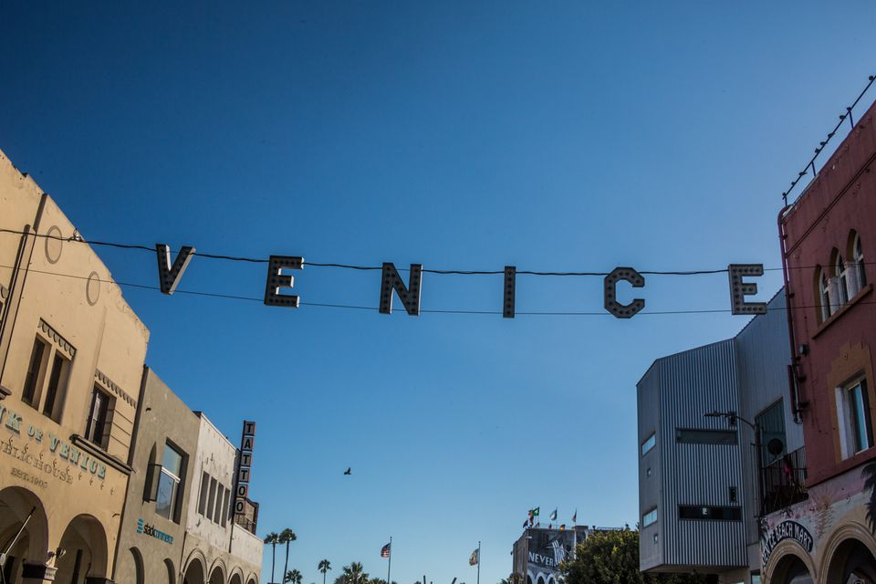 Venice Beach Boardwalk, Los Angeles, CA