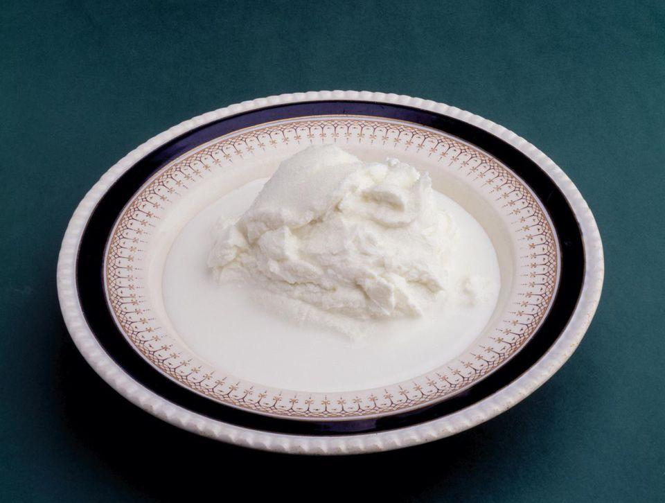 Icelandic Skyr (non-fat milk product)