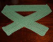 Thread Crochet Cotton Scarf