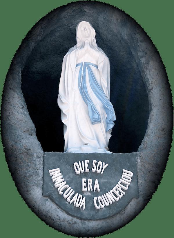 The Immaculate Conception, Most Blessed Sacrament Shrine, Hanceville, AL. (Photo © Scott P. Richert)