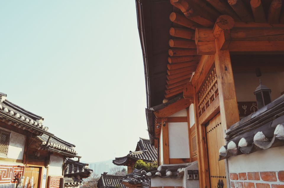 Traditional Houses At Bukchon Hanok Village