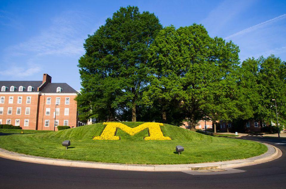 "University of Maryland ""M"" Traffic Circle"