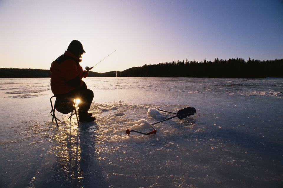 Ice Fishing on Loon Lake